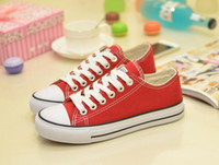 converse all star shoes - dorp shipping new Unisex Lace up canvas shoes Low Top High Sport Shoes High quality canvas shoes GUHI
