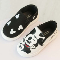childrens shoes - Hello Kitty Mickey Canvas Shoes Children Casual Shoes Korean Girl Shoes Kid Shoes Summer Autumn Childrens Shoes Kids Casual Shoes C9504