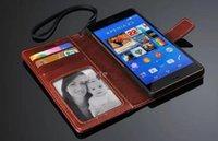 cover For Sony Xperia Z2 - Luxury Leather Photo Wallet Stand Cose Cover For Sony Xperia Z1 L39H Z2 L50T Z3 L55U