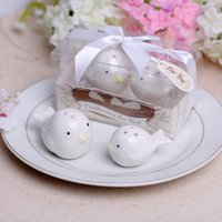 Wholesale 100Set Feathering the Nest Love birds Salt and Pepper Shaker wedding favors and gifts