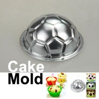 baking aluminum pans - DIY Non toxic Aluminum Birthday Cake Baking Jello Chocolate Football Pan Mold E5M1