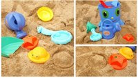 Wholesale Beach toys Sand Toys Beach toys Hot Children Play with Sand Toys Baby Summer Sand excavating Tool Toys