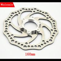 bicycle disk brake pads - New hot MTB Mountain bike bicycle Hydraulic disk brake pads rotors rotor set steel disc brakes freio a disco velo freno bicicleta