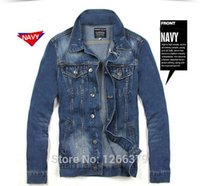 Wholesale Men s jeans jackets man denim jacket for men Men s clothing Size M XXL