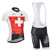 assos bib shorts - 2014 Assos Red Cycling Clothing Maillot Ciclismo Short Sleeve Cycling Jersey and cycling Bib Shorts Set