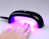 Wholesale Colorful W Nail UV Gel Curing Lamp Mini Nail Gel Dryer LED UV Lamp Gel LED Lamp Nail
