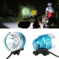Wholesale Bicycle Accessories Bicycle Lights Lumen CREE XM L T6 LED Bicycle Headlight Lamp For Bike Cycling Bike Bicycle Waterpoof Front Light