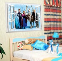 Wholesale HOT sale High quality winter colors of the window background of kindergarten children s rooms bedroom waterproof removable wall stickers