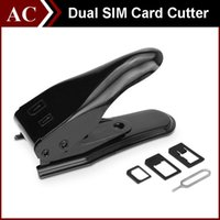 Wholesale Dual SIM Card Cutter Maker In Standard Micro Nano Adapter Eject Pin For iPhone S S Plus Samsung Galaxy HTC High Quality free DHL