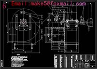 Wholesale Y4 NO4A centrifugal fan Drawings Full Machining drawings CAD
