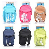 apple green purse - Zipper Multifunctional Casual Handbags Sports Bag Cluches Purses Cell Phone Pouch for Samsung S6 Edge and other Smart Phones s Nylon Bags