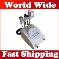 110V-220V slim fast - Fast effect tripolar Multipolar RF Vacuum Roller Liposuction Ultrasonic Cavitation rf slimming machine Fat removal beauty equipment