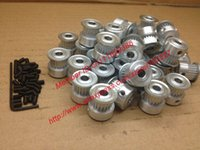 Wholesale 100pcs GT2 Timing Pulley tooth Width mm teeth Bore mm Freeshipping