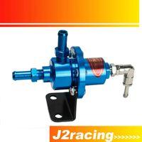 Wholesale J2 RACING STORE SARD Blue Adjustable Turbo Fuel Pressure Regulator FOR RX7 S13 S14 Skyline WRX EVO W O GAUGE PQY7563B