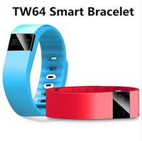 Wholesale Smart Band TW64 Smart band FITBIT wristband Sport Bracelet Wristband Fitness Tracker Bluetooth Health Pedometer For Ios Android