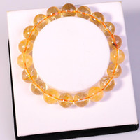 Cheap Beaded, Strands natural crystal jewelry Best South American men women Round Beads bracelets