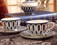 ceramic cup and saucer - Specials gifts bone china ceramic cup and saucer blue Indian Coffee Gift