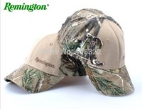 Wholesale Remington COTTON fabric Camo hunting cap TREE camo hunting fishing baseball cap CAMO HAT hunting casquette