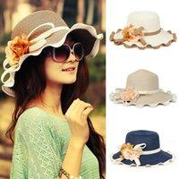 Cheap Stingy Brim Hat Fashion Hat Cap Best 4 colors to choose Cowboy Women Straw Hat