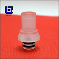 acrylic bear connection - 2014 Heat Resistant FATTY Drip Tip plastic derlin pom drip tips connection acrylic wide bore drip tips for atomizer RDA mods