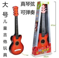 Wholesale 17829 large guitar strings children s toy musical simulation really can play the music a little musician
