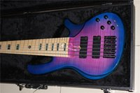Wholesale new arrival purple bass string bass guitar EC16 active bass in stock