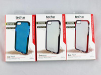 apple - Tech Tech21 Case for Apple iPhone Plus S6 Transparent Impact Evo Mesh Case Cover TPU Bumper D3O Skin Protector with Retail Box US05
