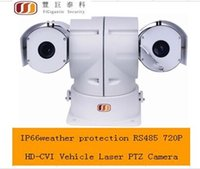 Wholesale FG P HD CVI Vehicle Laser PTZ Camera RS485 control IP66 weather protection