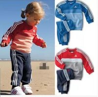 the four seasons - Children s sports suit two piece set four season the new baby boy girl pure cotton terry grinding MAO sport suit children s wear43