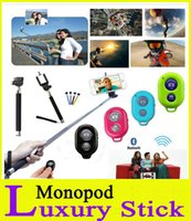 best trips - Selfie Stick Trip Best Wireless Bluetooth Handheld Monopod Remote Control For iphone Plus Samsung Extendable With Phone Holder