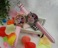 Wholesale Ladies Women Girl Watch Hot Sale Handmade POLYMER CLAY Japan movement Mini Diamond waterproof meter rose Butterfly