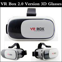 Wholesale VR box version Version Head Mount Plastic Virtual Reality Glasses D Game Movie for