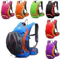 bicycle rucksacks - 15L Bicycle Cycling Rucksack Backpack Hydration Pack Helmet Water Bladder Bag