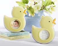 Wholesale quot My Little Duckling quot Baby Duck Photo Frame Wedding Favors Wedding Gifts Party Favors baby shower wedding giveaway supplies
