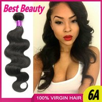 Cheap Big Deals Unprocessed Hair Weaves Brazilian Malaysian Peruvian Indian Virgin Human Hair Extensions 4PC Body Wave Double Wefts Bundle Hair