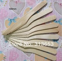 Wholesale new arrival Disposable wedding tableware Wooden Flatware Knife Fork Spoon ice cream spoon