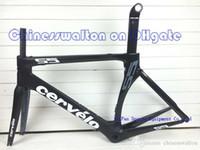 cervelo - 2015 newest carbon frame full carbon road bike frames fork seat post CERVELO BB right bicycle frameset Windreaver team sky