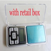 Wholesale Mini Electronic Digital Jewelry Scale g x g Balance Pocket Gram LCD Display Hot Sale Without Battery