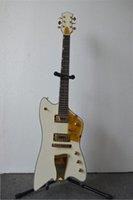 Wholesale Custom shop Hot Selling White Guitar Thunder bird Reverse FSR Billy Bo Jupiter Electric Guitar In Stock