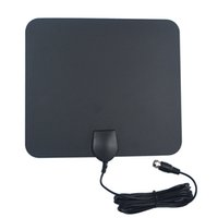 amplifier building - Chipman Miles Ultra Thin Indoor HDTV Antenna Built in Amplifier for UHF VHF with ft Coaxial Cable A