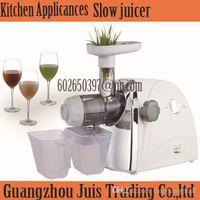 apple juice press - Automatic Orange apple vegetable Fruit press machine wheatgrass juice extractor maker blender friut citrus electic slow juicer A3