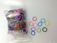Hair Rubber Bands colors styles Wholesale - Rainbow Loom glow in the dark glitter metal camouflage charms bands Silicone Rubber Bands in stock 100bags lot