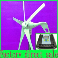 wind power - Wind power turbine W Max V wind generator With LCD display Wind Solar Hybrid Controller Low Price Years Warranty
