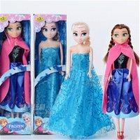 Wholesale Frozen Anna Elsa Olaf Toys Princess Dolls Inch Nice Gift for Kids Girls Birthday Christmas Gift Barbie Doll Princess Dolls Toys G0167