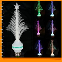 Wholesale Sale E27 Multi Colors Changing Christmas Tree LED Decoration Light LED Magic Bulb Lamp for Party Holiday Lighting