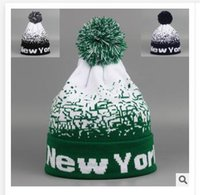 best womens ski - Skiing Hats New Orleans Mens Ladies Womens Beanie Knitted Oversize Beanie Caps Christmas hat Best gifts Casual NEW YORK Hat R1500