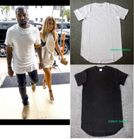 big and tall white tees - MEN streetwear hip hop mens big and tall mens clothing casual tee shirts plain extra long extended plus size men t shirts kany