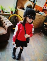 angle clothing - Angle Wing Children Girls Princess T shirts Spring Solid Color Baby Girl Fleece Kids Childs Tops Clothing Clothes Red White Black