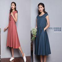 Linens Asymmetrical, Simple Dresses, Maxi Dresses, Summer Linens, Women Summer, Maxis Dresses, Asymmetrical Maxis, Linens Clothing, Linens Dresses