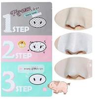 acid strips - Pig Nose Clear Black Head Facial Mask Nose Blackhead Pore Strip Cleansing Mask